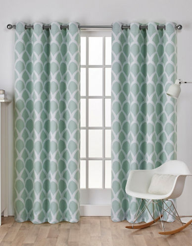Home Outfitters Durango Window Curtain Panel-SEA FOAM-96 inches