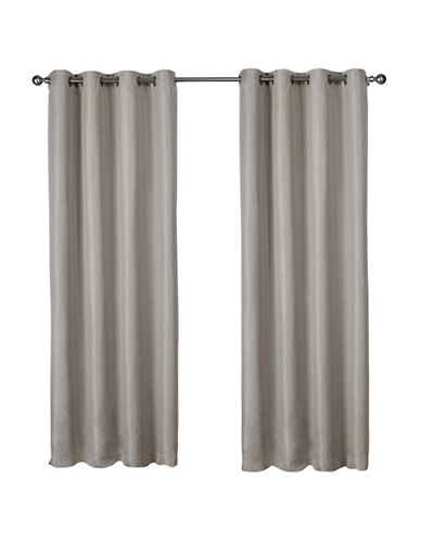 Home Outfitters Eglinton Large Window Curtain-LINEN-96 inches