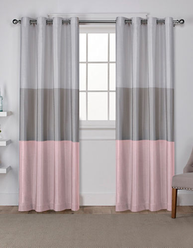 Home Outfitters Chateau Large Window Curtain-BLUSH-108 inches
