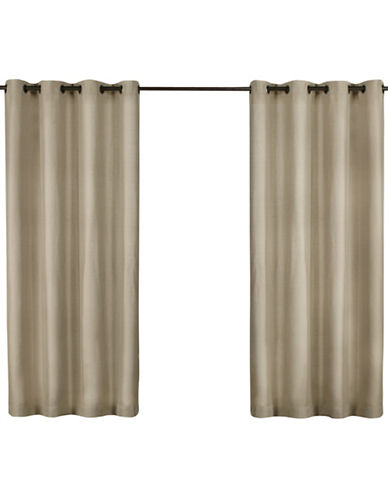 Home Outfitters Biscayne Indoor/Outdoor Panel Pair-SAND-84 inches