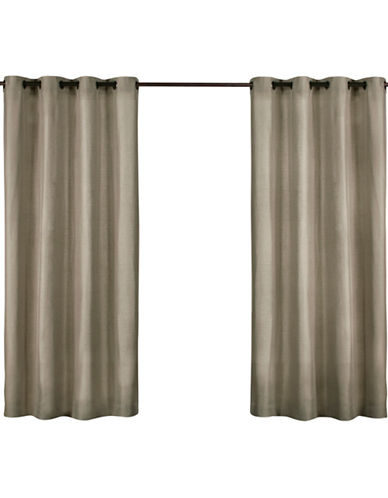 Home Outfitters Biscayne Indoor/Outdoor Panel Pair-NATURAL-96 inches