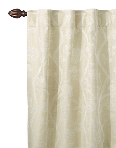Home Studio Lamont Blackout Drape-LINEN-84 inches