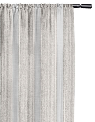 Home Studio Lugano Sheer Drape-SNOWFLAKE-84 inches
