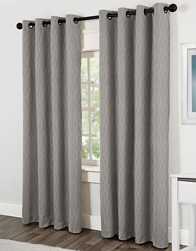 Home Studio Jazz 84in Thermal Grommet Panel-DOVE GREY-84 inches