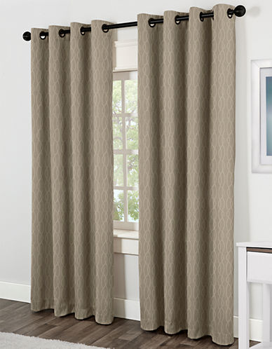 Home Studio Jazz 84in Thermal Grommet Panel-NATURAL-84 inches