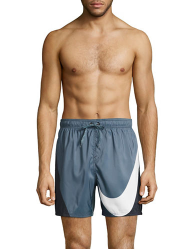 Nike Volley Swim Shorts-BLACK-Large