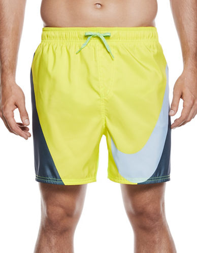 Nike Volley Swim Shorts-YELLOW-Medium