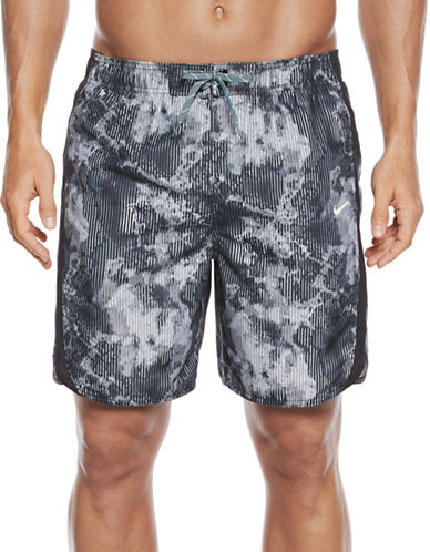 Nike Filter Printed Volley Shorts-BLACK-Small 89090188_BLACK_Small