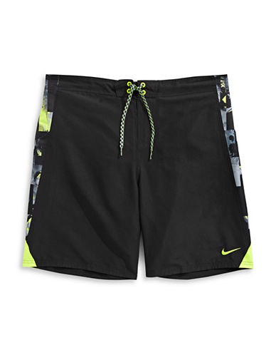Nike Mirage Splice Boardshorts-BLACK-XXX-Large