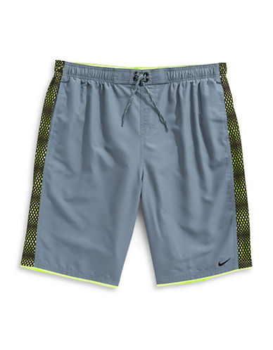 Nike Fuse Mesh Panel Shorts-BLUE-XXXX-Large
