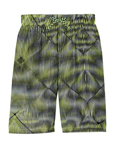 Nike Techno Tear 9in Volley Shorts-GREEN-X-Large