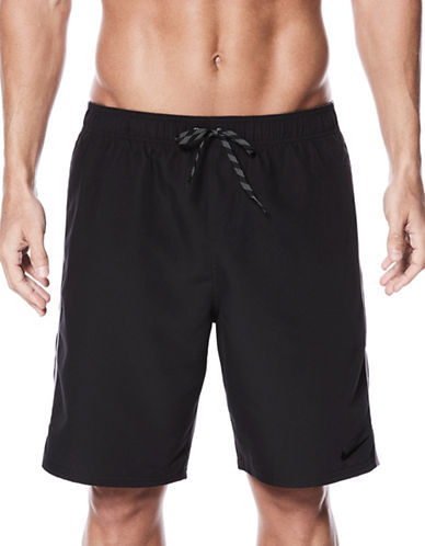 Nike Volley Drawstring Shorts-BLACK-X-Large