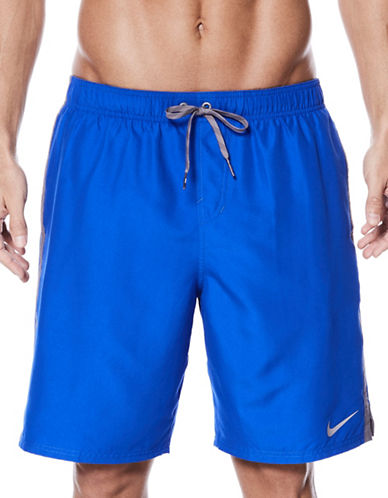 Nike Volley Drawstring Shorts-ROYAL BLUE-X-Large