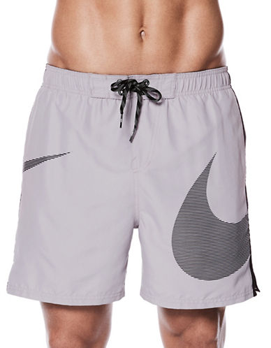 Nike Swoosh Volley Shorts-GREY-X-Large 89863205_GREY_X-Large