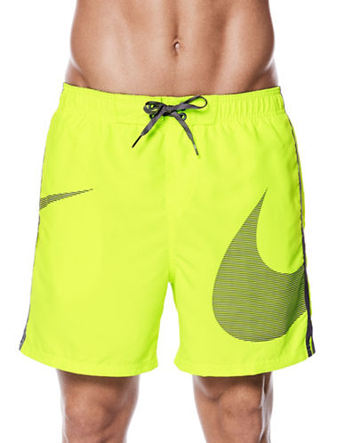 Nike Swoosh Volley Shorts-YELLOW-XX-Large 89863201_YELLOW_XX-Large