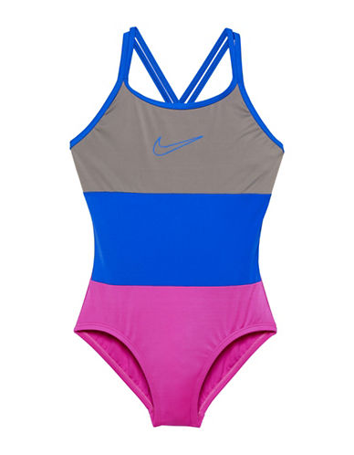 Nike One-Piece Surge Spider Back Swimsuit-PURPLE-16