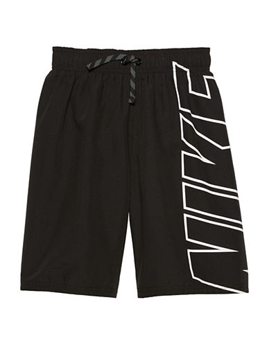 Nike Signature Swim Shorts-BLACK-Large 89698993_BLACK_Large