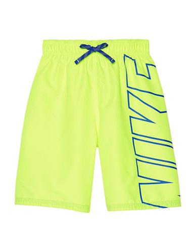 Nike Signature Swim Shorts-YELLOW-Small