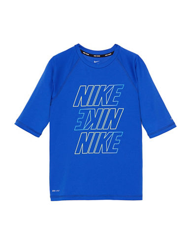 Nike Short-Sleeve Swim Hydroguard-ROYAL BLUE-Medium 89866272_ROYAL BLUE_Medium