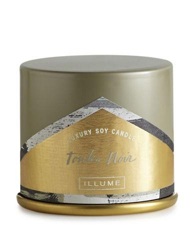 Illume Tonka Noir Demi Vanity Tin Candle-GREY-One Size