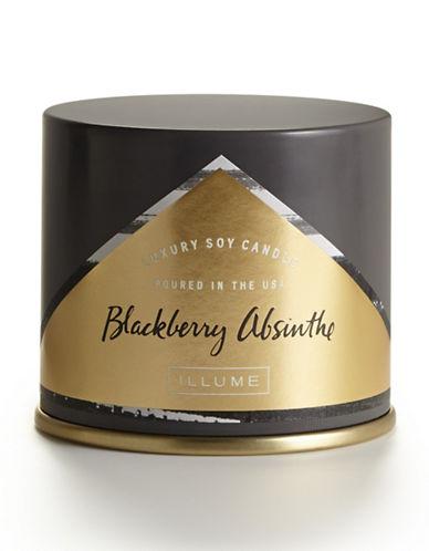 Illume Blackberry Absinthe Vanity Tin Candle-DARK GREY-One Size