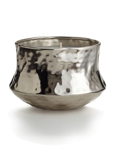 Illume Tonka Noir Talisman Tin Candle-SILVER-One Size