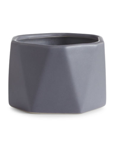 Illume Blackberry Absinthe Dylan Ceramic Candle-GREY-One Size