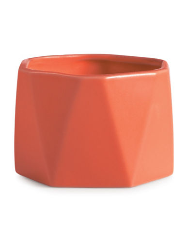Illume Sweet Hibiscus Dylan Ceramic Candle-RED-One Size