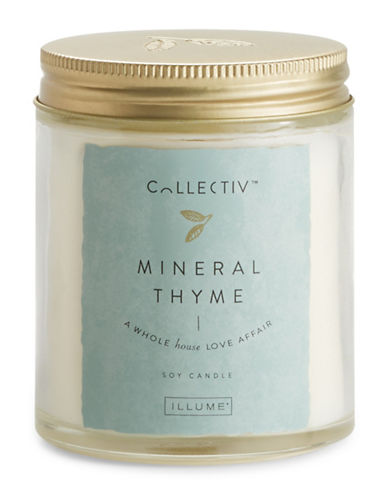 Illume Mineral Thyme Julia Jar Candle-NATURAL-One Size