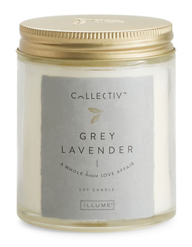 Illume Grey Lavender Julia Jar Candle-NATURAL-One Size