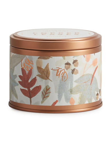 Illume Copper Leaves Tin Candle-ROSE GOLD-One Size