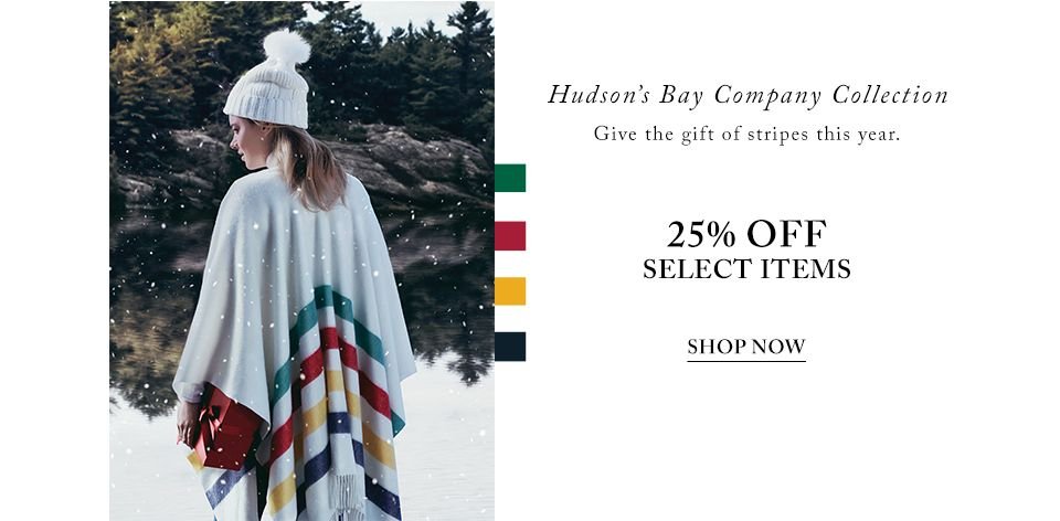 Hudson's Bay Return Policy. Most merchandise can be returned up to 30 days after purchase so long as the returned items are in their original state and accompanied by the original receipt. Submit a Coupon. Sharing is caring. Submit A Coupon for Hudson's Bay here. Store Rating. Click the stars to rate your experience at Hudson's Bay.