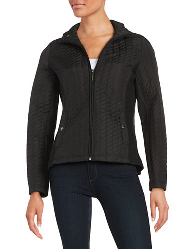 Weatherproof Quilted Lightweight Jacket-BLACK-Large 88601528_BLACK_Large