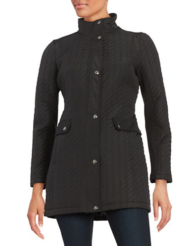 Weatherproof Plus Ribbon Quilted Jacket-BLACK-Medium 88601543_BLACK_Medium