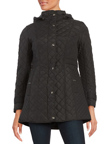 Weatherproof Quilted Walker Coat-BLACK-Small 88601562_BLACK_Small