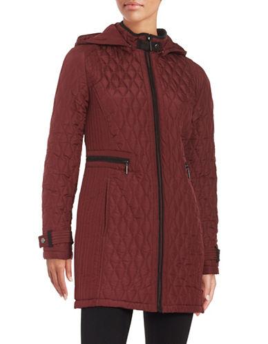 Weatherproof Quilted Zip-Front Jacket-MULBERRY-Medium