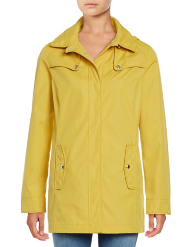 Weatherproof Bonded A-Line Jacket-HONEY-Medium