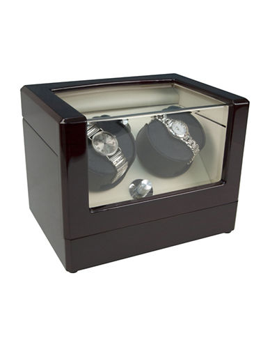 Gunther Mele Phillip Two Watch Winder-BROWN-One Size