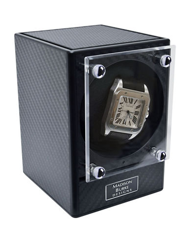 Gunther Mele The Link Modular Watch Winder-BLACK-One Size