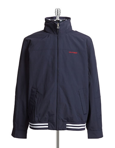 Tommy Hilfiger Regatta Jacket-BLUE-XX-Large