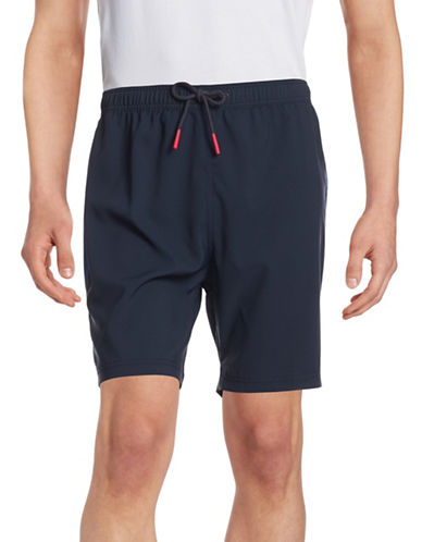 Tommy Hilfiger Colourblocked Active Shorts-NAVY BLAZER-XX-Large 88102231_NAVY BLAZER_XX-Large
