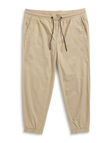 Tommy Hilfiger Big and Tall Classic-Fit Nathaniel Chino Joggers-MALLET-4X Big