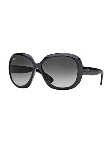 Ray-Ban 0RB4098 60mm Butterfly Sunglasses-BLACK-60 mm
