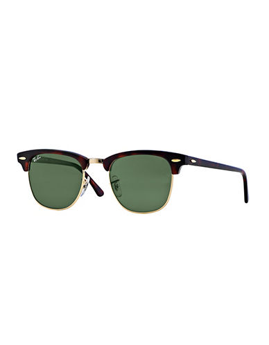Ray-Ban Classic Clubmaster Sunglasses-TORTOISE/ARISTA BROWN-51 mm