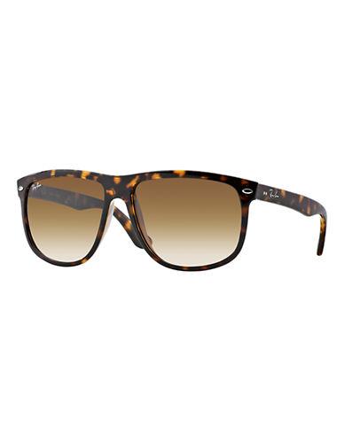 Ray-Ban Oversized Rounded Square Sunglasses-LIGHT HAVANA (710/51)-Large