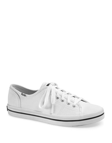 Keds Womens Kickstart Sneakers-WHITE-5