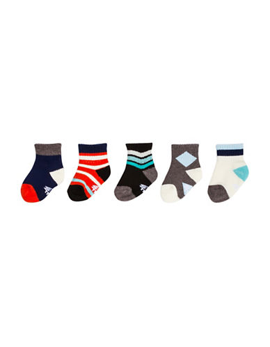 Drake General Store Play Week Socks Set-NO COLOUR-One Size