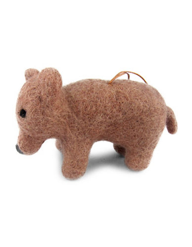 Drake General Store Grizzly Bear Ornament-NO COLOUR-One Size