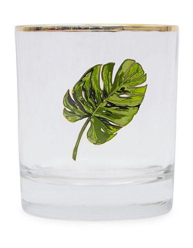 Drake General Store Palm Bar Glass-GREEN-One Size