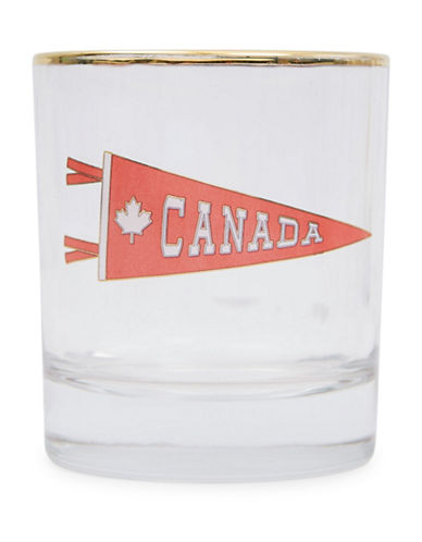 Drake General Store Canada Bar Glass-RED-One Size